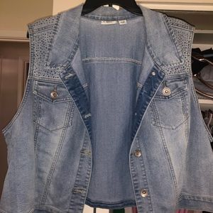 Jackets & Blazers - Denim vest